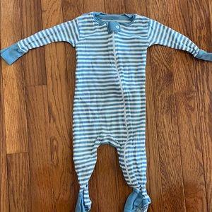 Burt's Bees Baby footie pajama